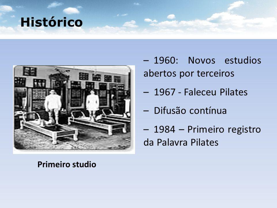 Histórico 1960: Novos estudios abertos por terceiros