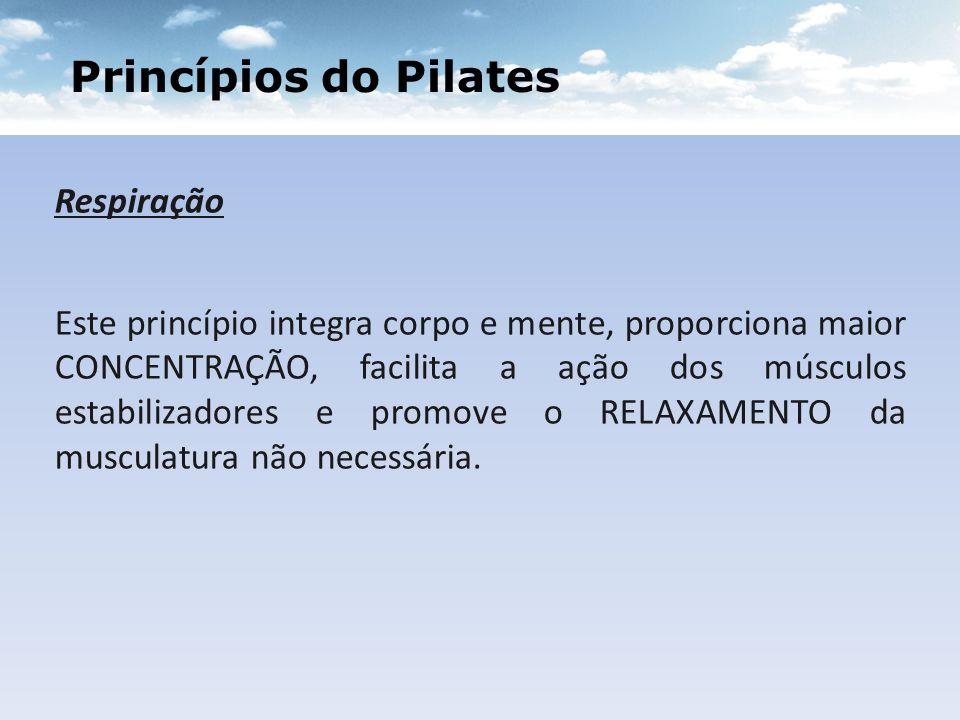 Princípios do Pilates Respiração