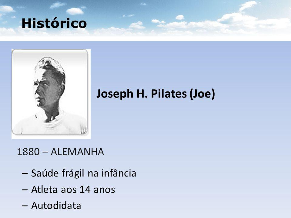 Histórico Joseph H. Pilates (Joe) 1880 – ALEMANHA