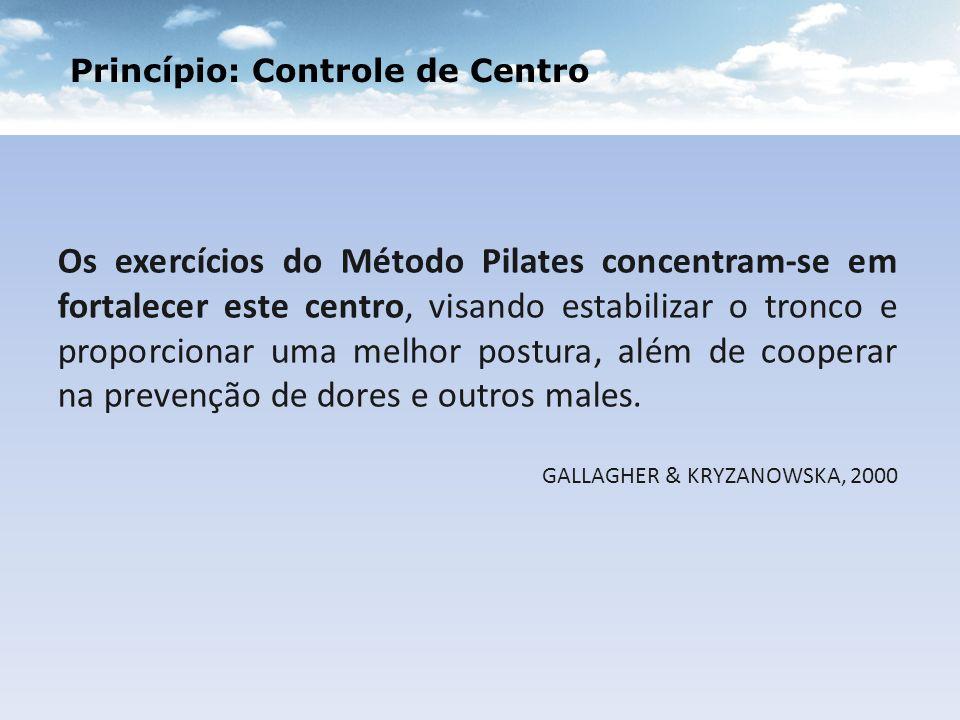 Princípio: Controle de Centro