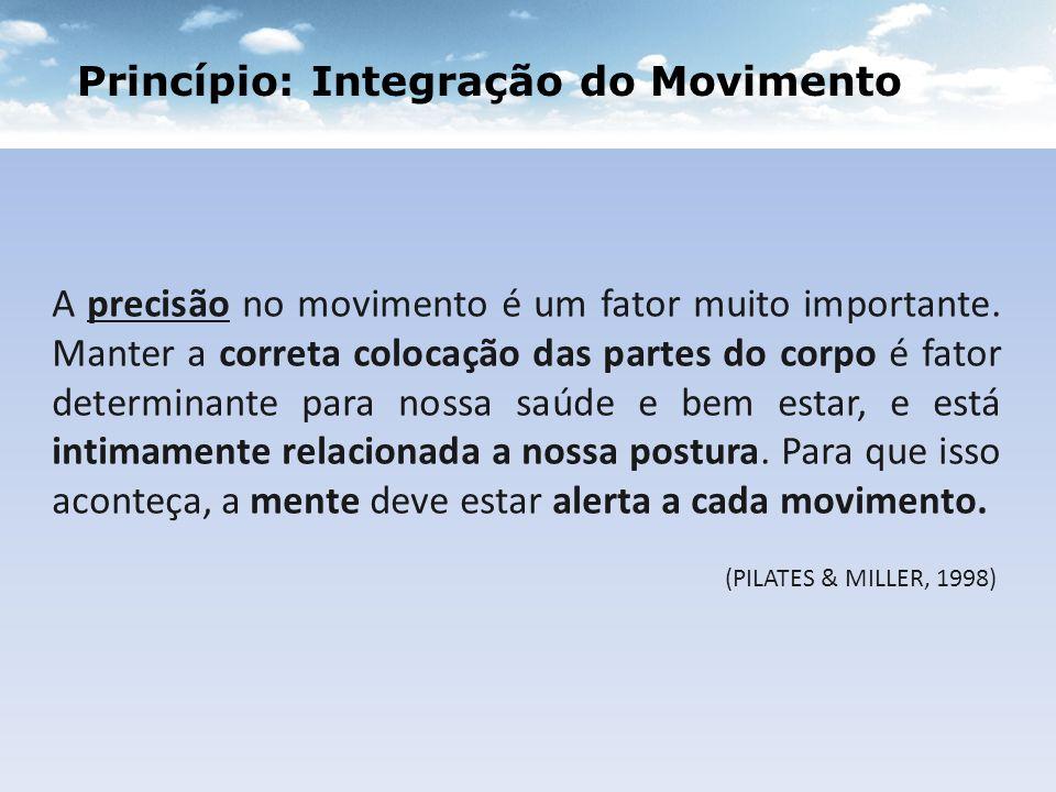 Princípio: Integração do Movimento