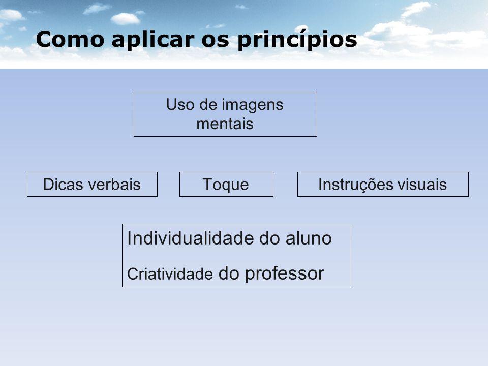 Como aplicar os princípios