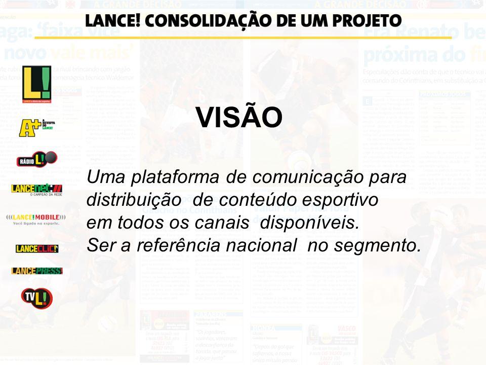 VISÃO Uma plataforma de comunicação para