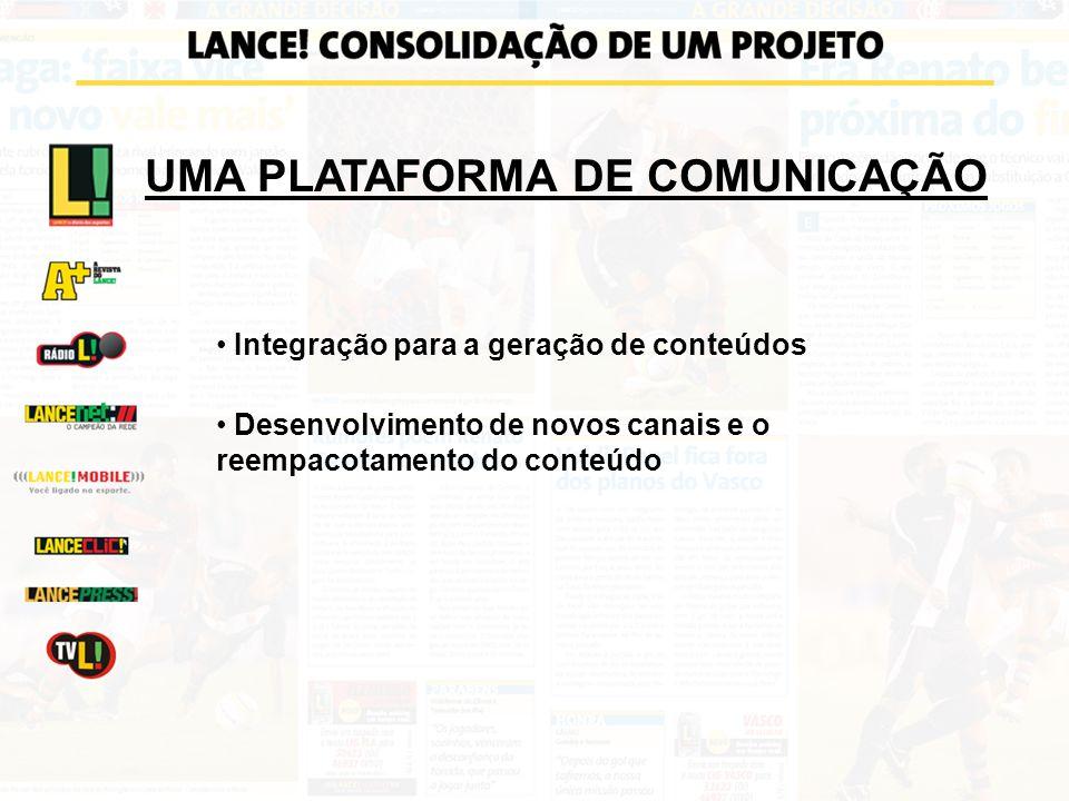 UMA PLATAFORMA DE COMUNICAÇÃO