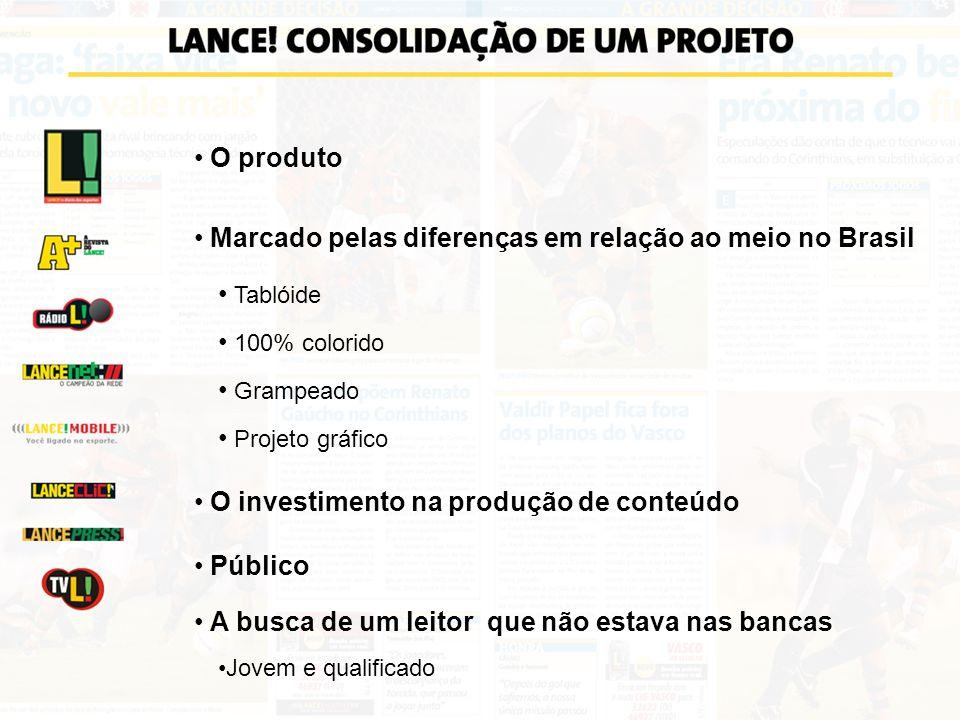Marcado pelas diferenças em relação ao meio no Brasil