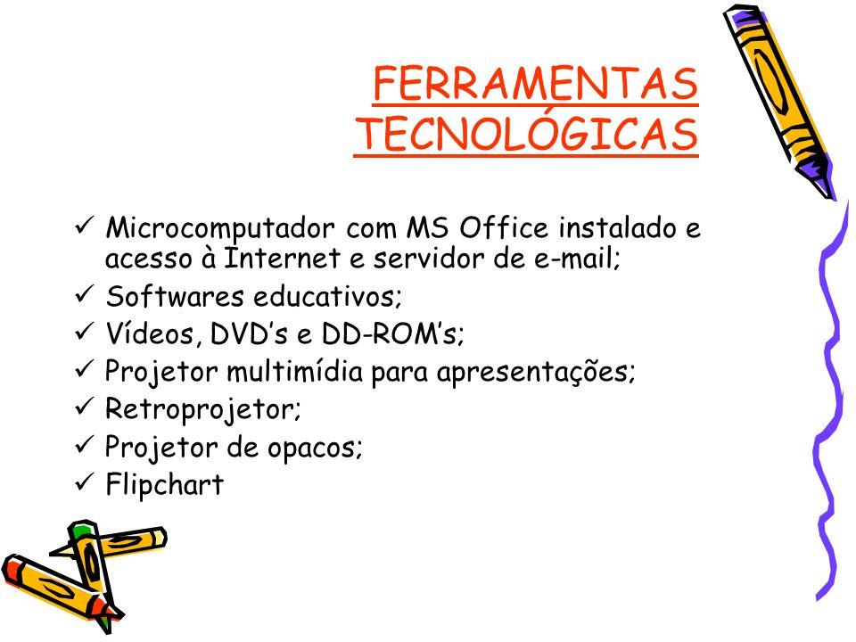 FERRAMENTAS TECNOLÓGICAS