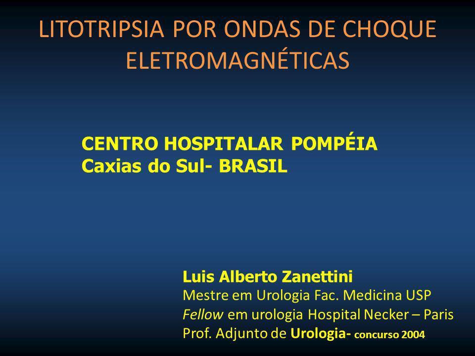 LITOTRIPSIA POR ONDAS DE CHOQUE ELETROMAGNÉTICAS