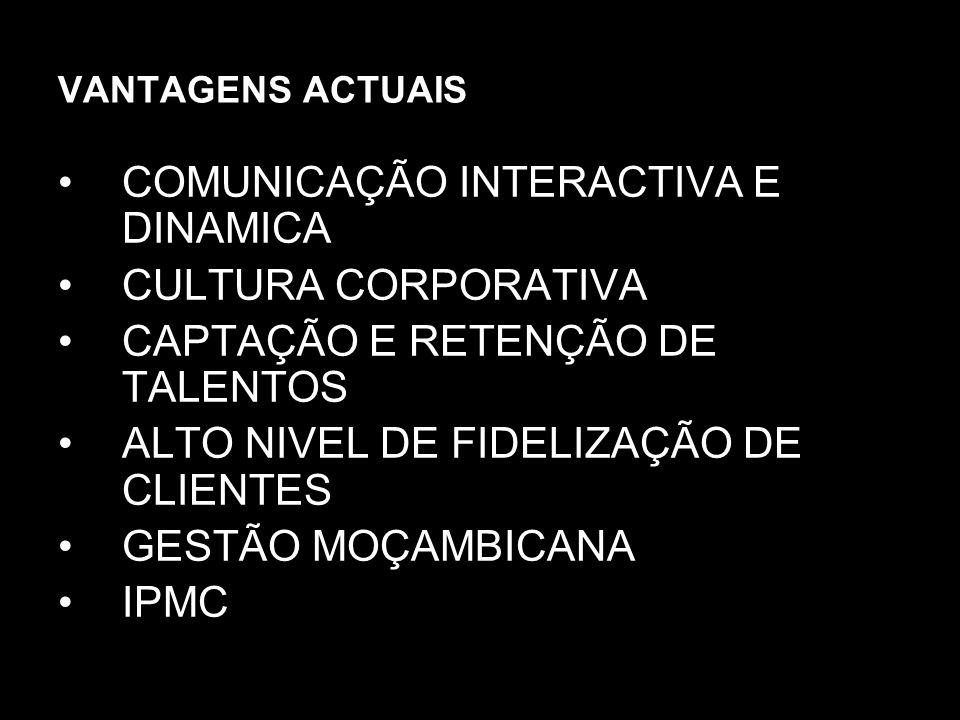 COMUNICAÇÃO INTERACTIVA E DINAMICA CULTURA CORPORATIVA