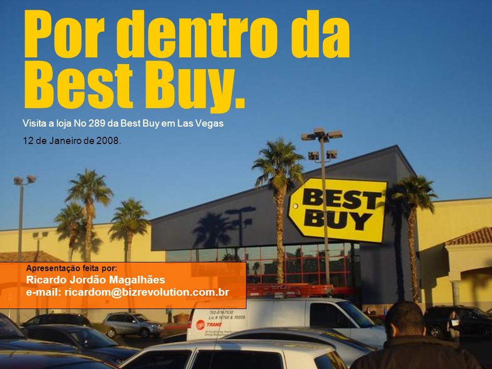 Por dentro da Best Buy. Visita a loja No 289 da Best Buy em Las Vegas 12 de Janeiro de 2008.
