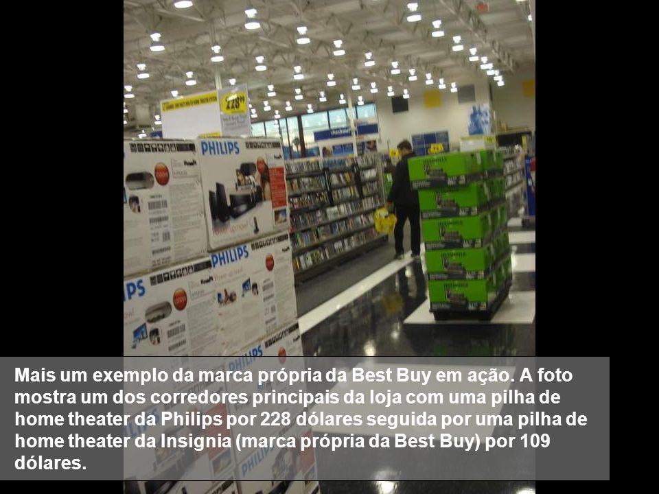 Mais um exemplo da marca própria da Best Buy em ação