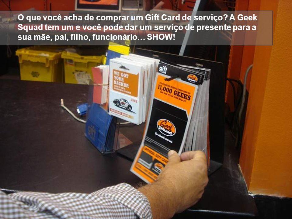 O que você acha de comprar um Gift Card de serviço