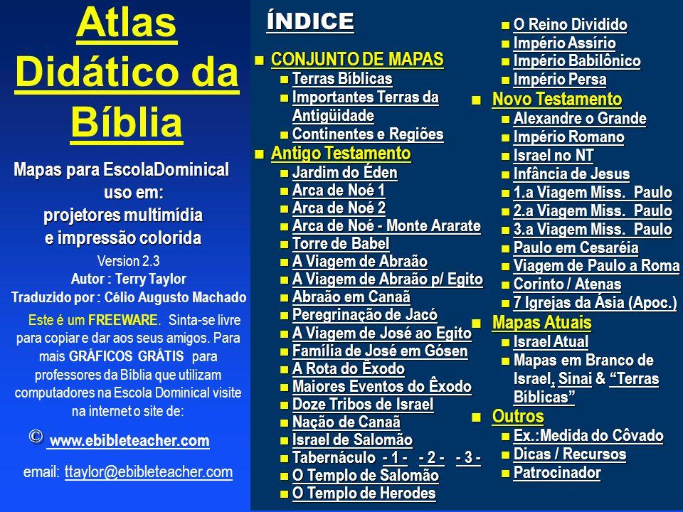 Atlas Didático da Bíblia