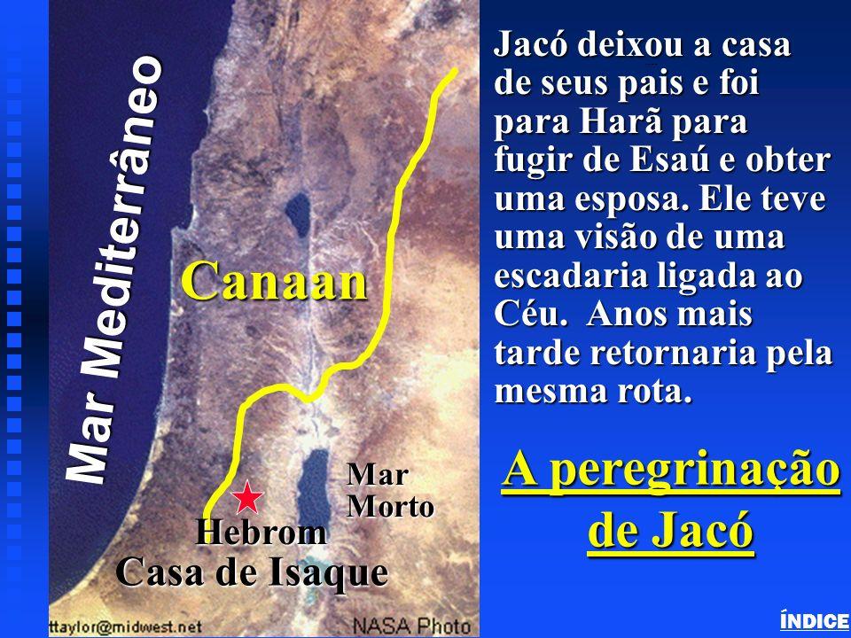 Canaan Click to add title Mar Mediterrâneo A peregrinação de Jacó