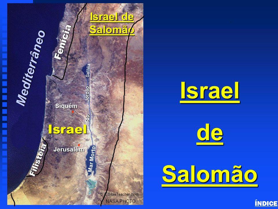 Israel de Salomão Mediterrâneo Israel Israel de Salomão Fenícia