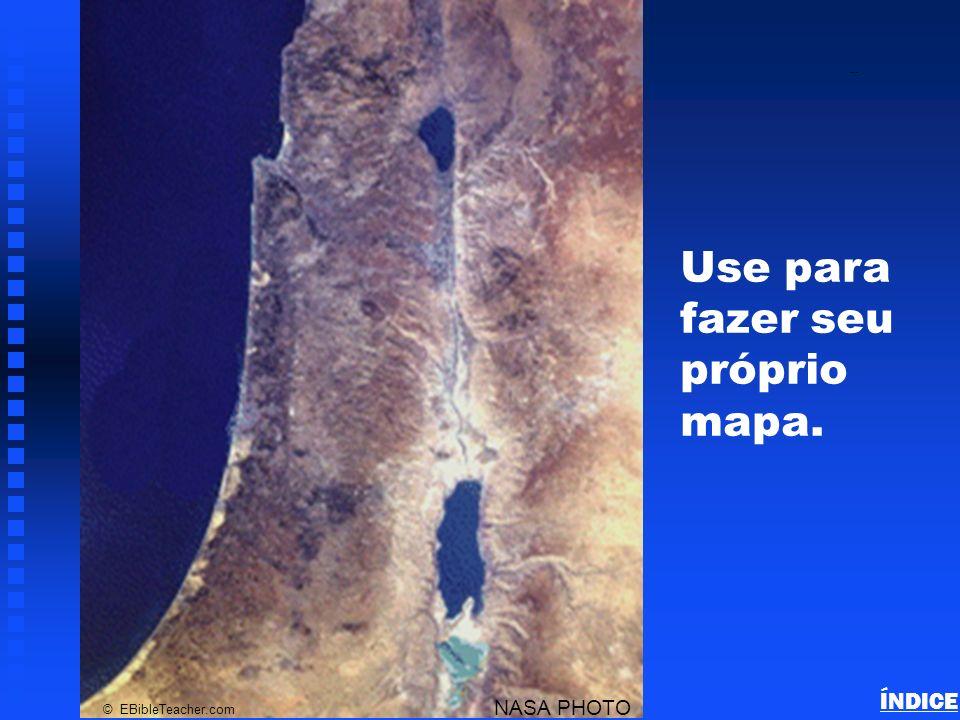 Use para fazer seu próprio mapa.
