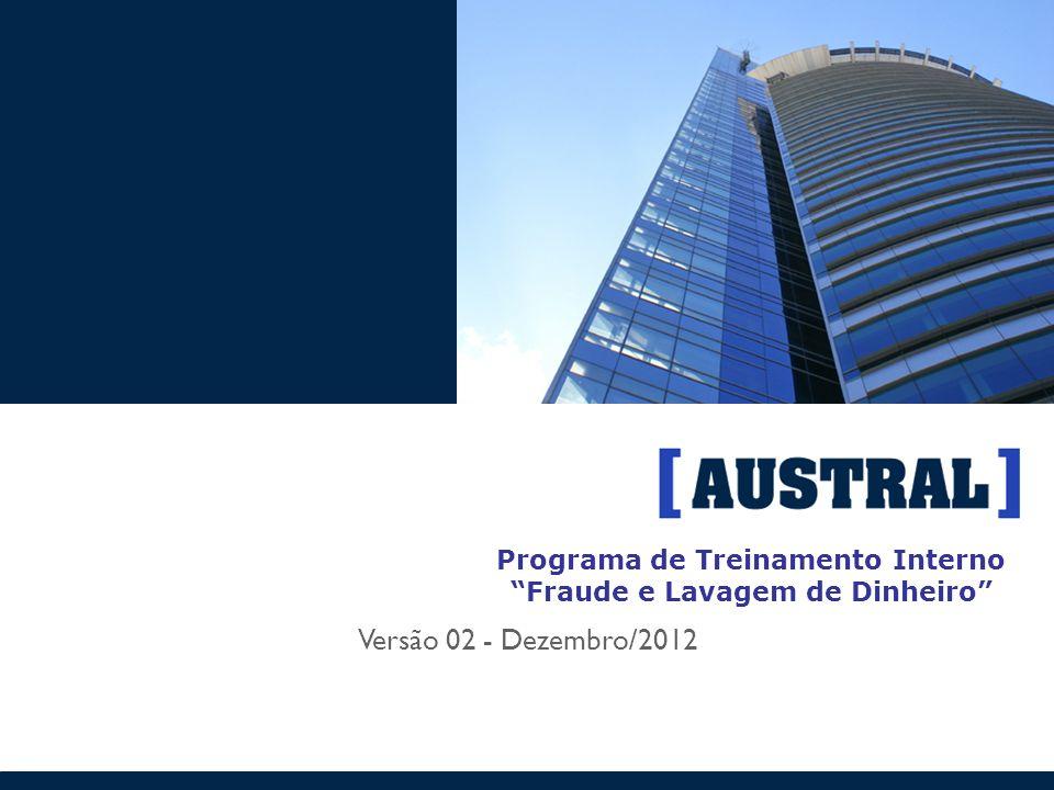 Programa de Treinamento Interno Fraude e Lavagem de Dinheiro