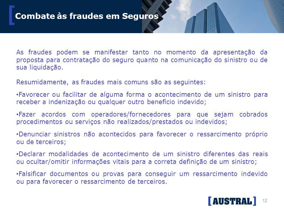 Combate às fraudes em Seguros