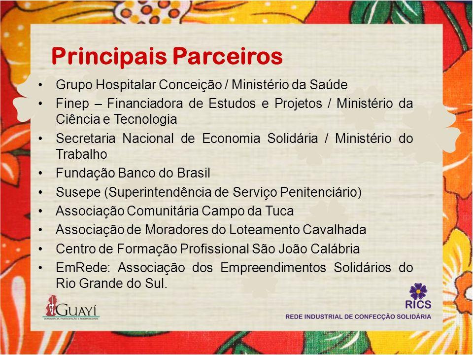 Principais Parceiros Grupo Hospitalar Conceição / Ministério da Saúde
