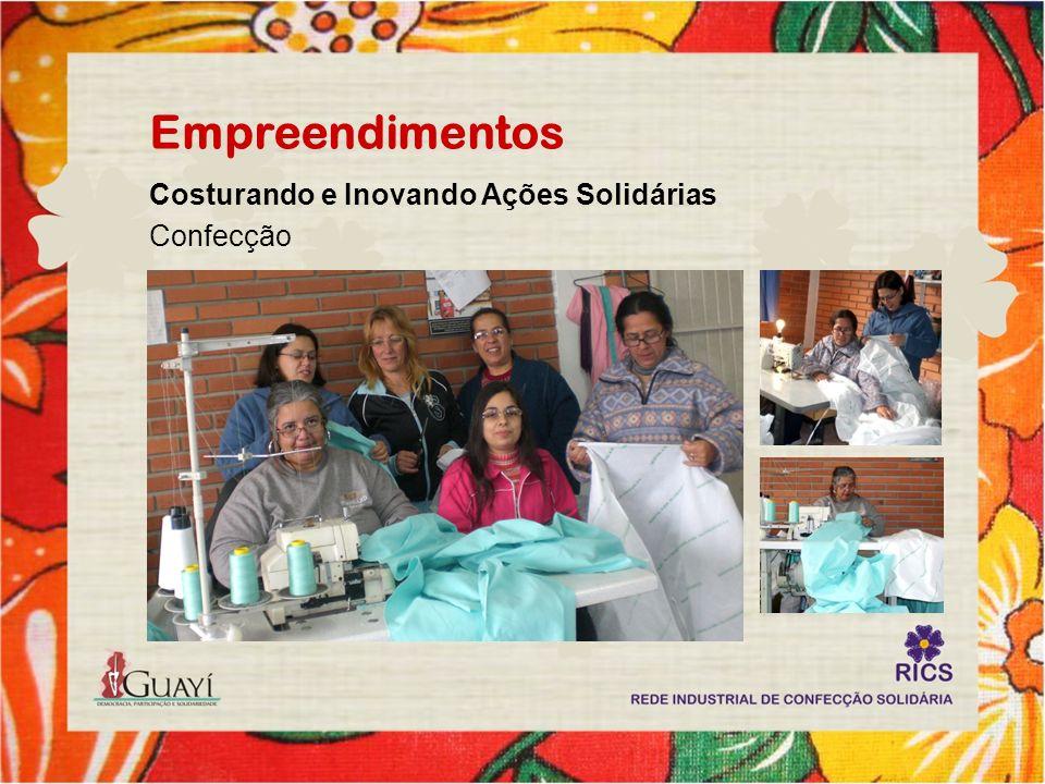 Empreendimentos Costurando e Inovando Ações Solidárias Confecção