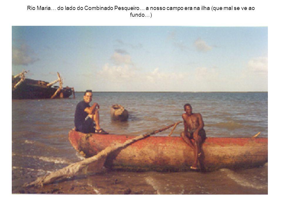 Rio Maria… do lado do Combinado Pesqueiro… a nosso campo era na ilha (que mal se ve ao fundo…)