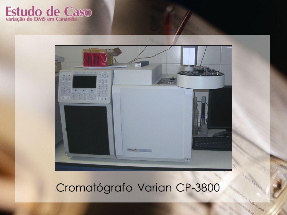 Cromatógrafo Varian CP-3800