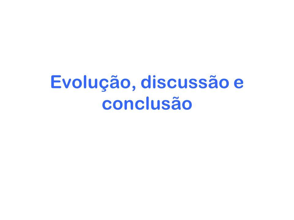 Evolução, discussão e conclusão