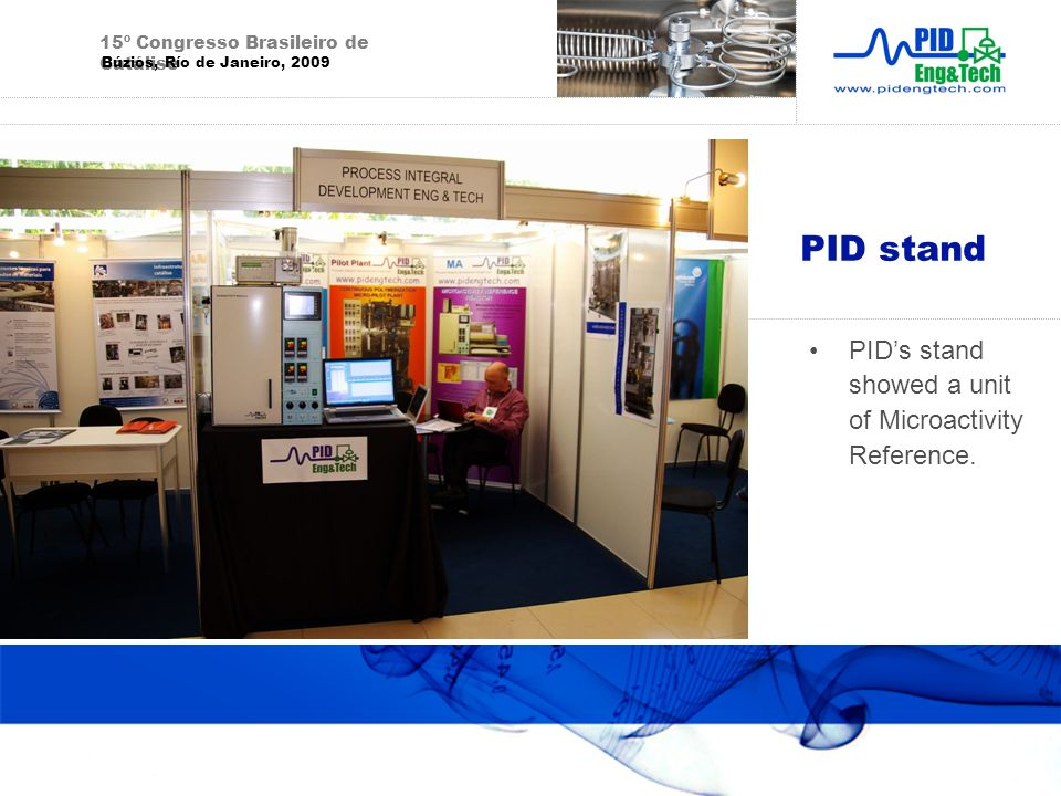 PID stand PID's stand showed a unit of Microactivity Reference.