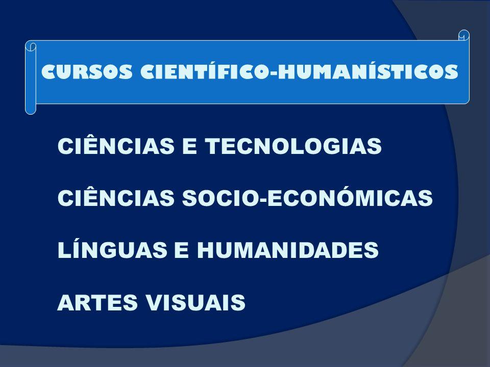 CURSOS CIENTÍFICO-HUMANÍSTICOS