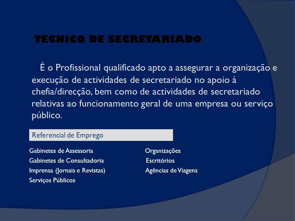 TÉCNICO DE SECRETARIADO