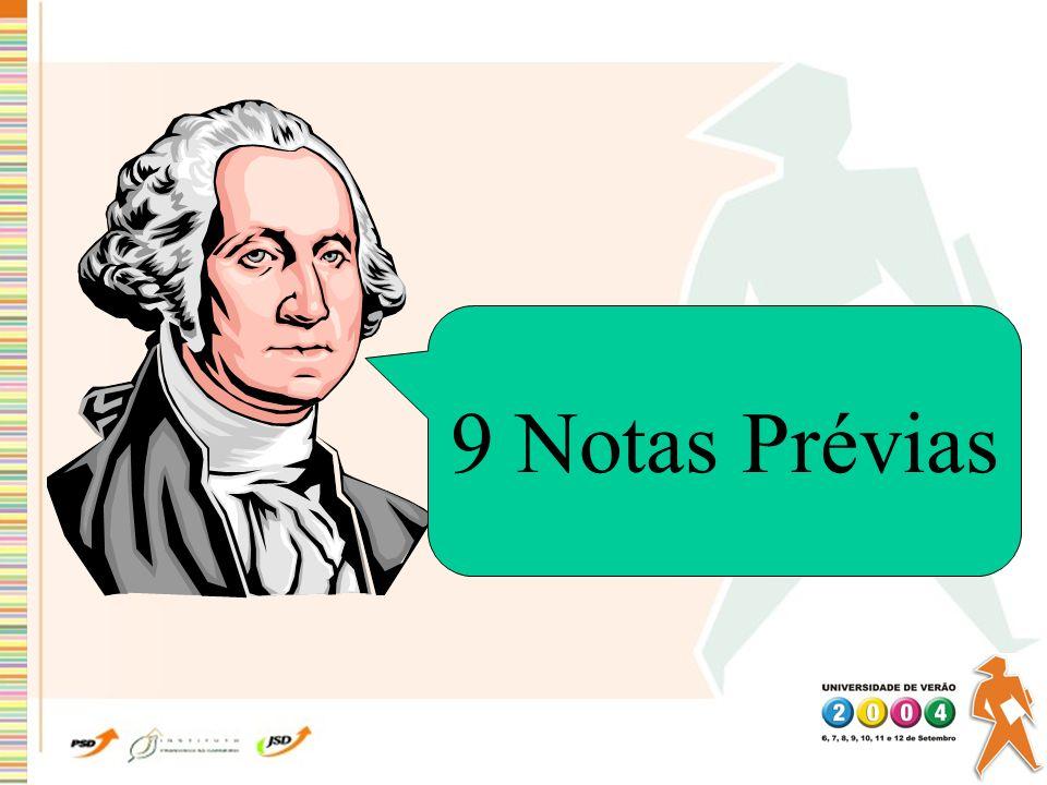 9 Notas Prévias