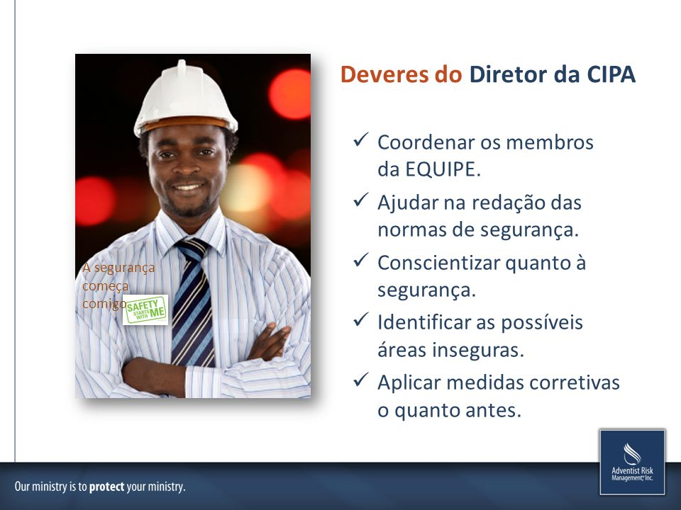 Deveres do Diretor da CIPA