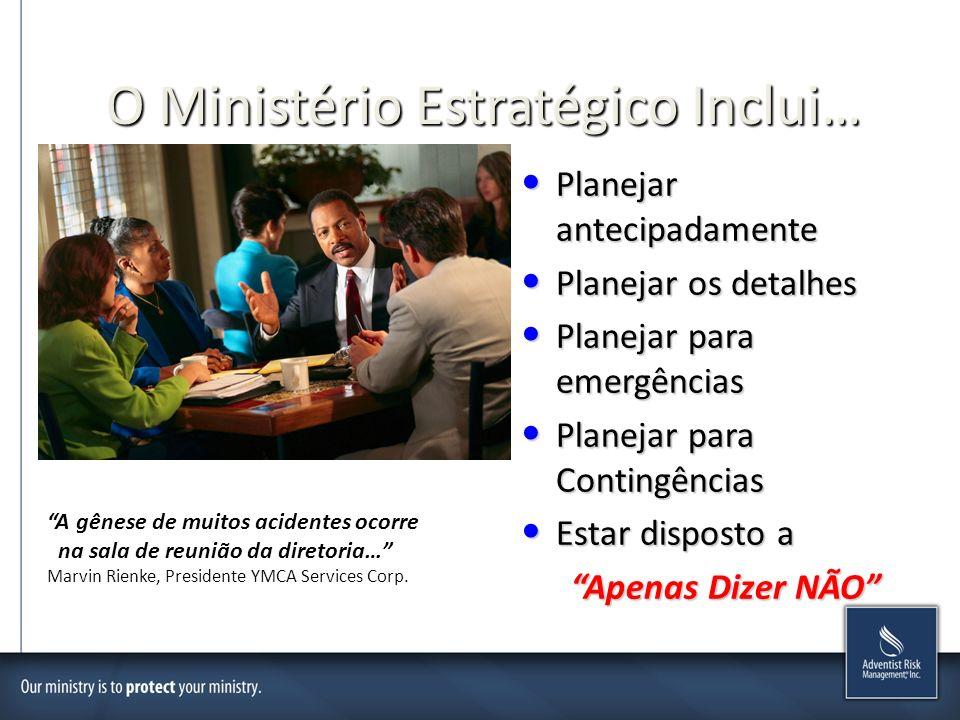 O Ministério Estratégico Inclui…