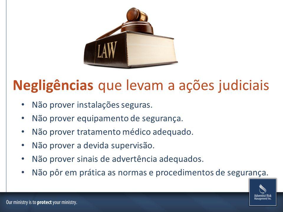 Negligências que levam a ações judiciais