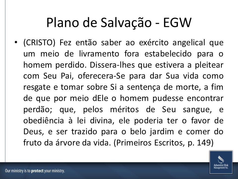 Plano de Salvação - EGW
