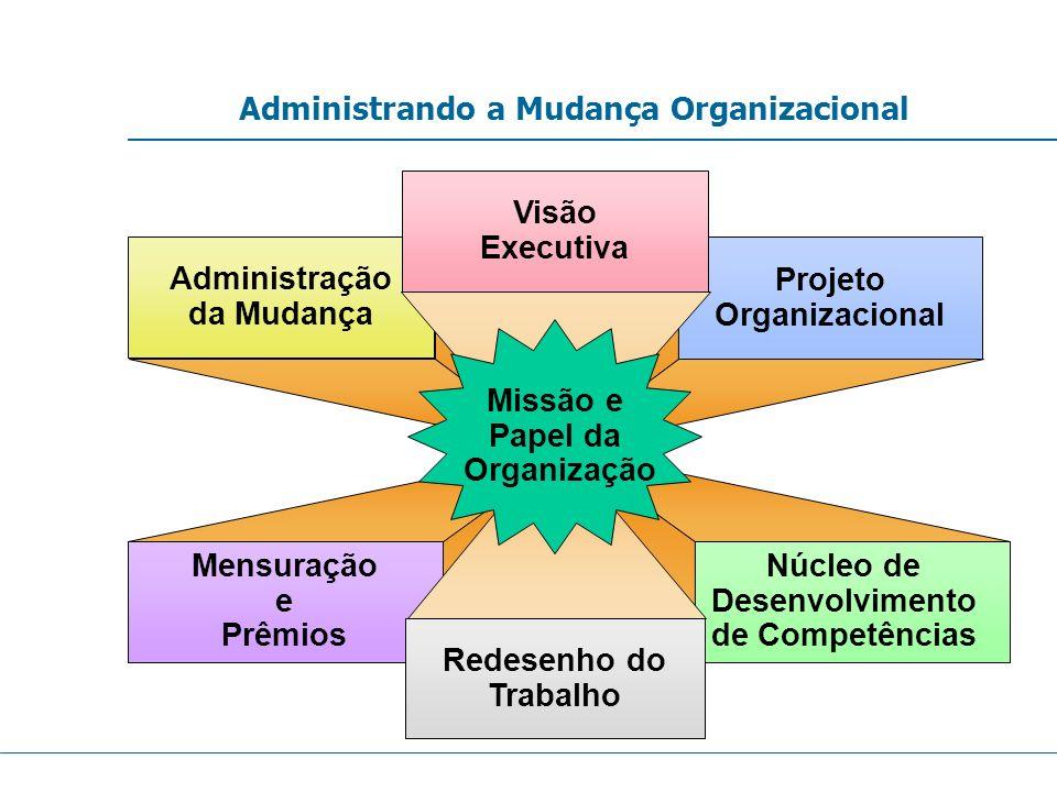 Administrando a Mudança Organizacional