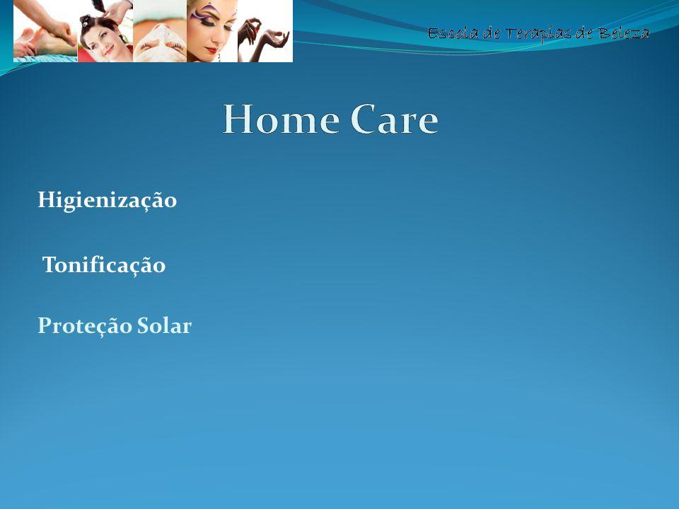 Higienização Tonificação Proteção Solar