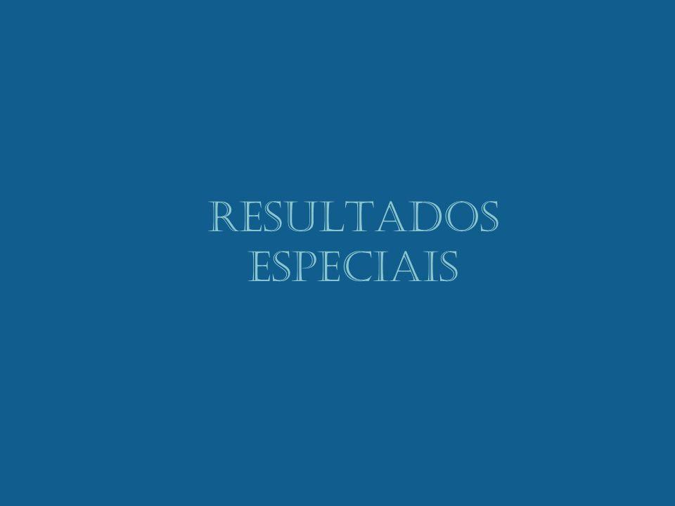 RESULTADOS ESPECIAIS