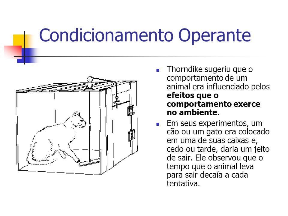 Condicionamento Operante