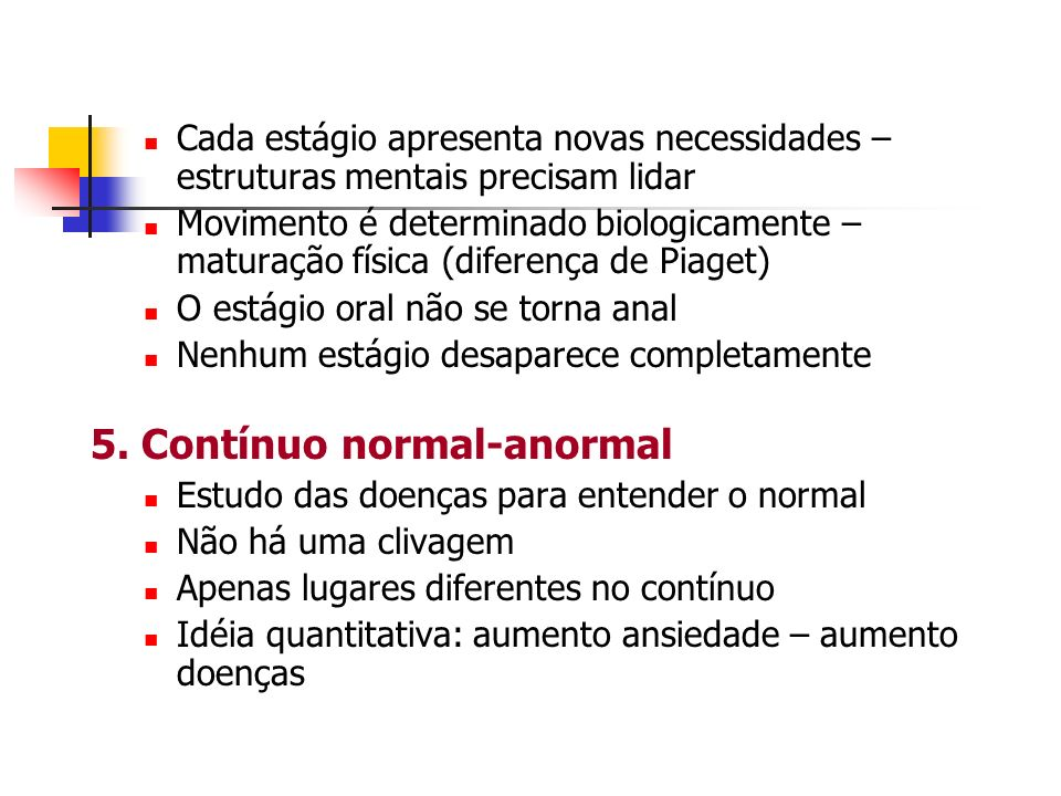 5. Contínuo normal-anormal