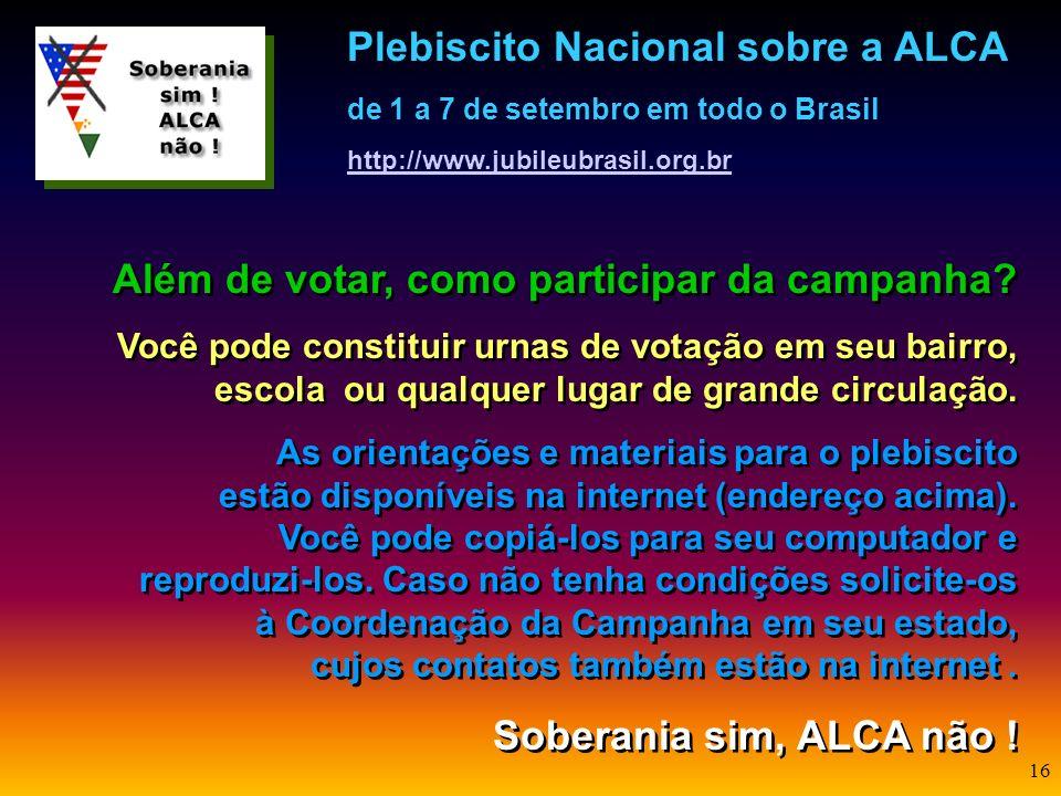 Além de votar, como participar da campanha