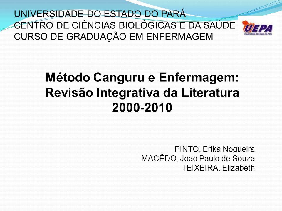 Método Canguru e Enfermagem: Revisão Integrativa da Literatura