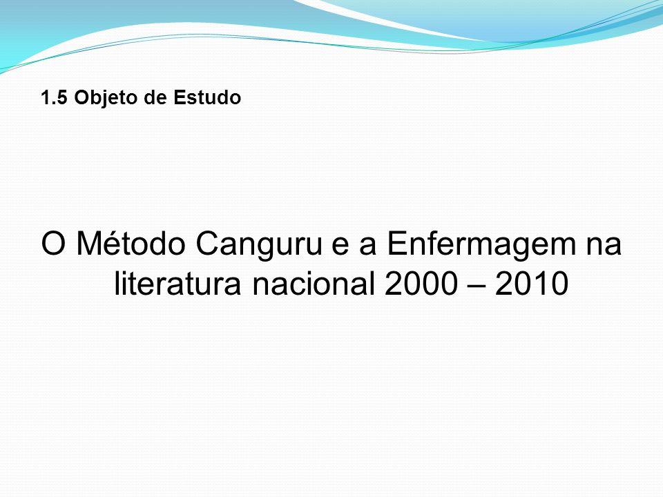 O Método Canguru e a Enfermagem na literatura nacional 2000 – 2010