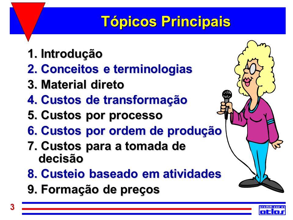 Tópicos Principais 1. Introdução 2. Conceitos e terminologias