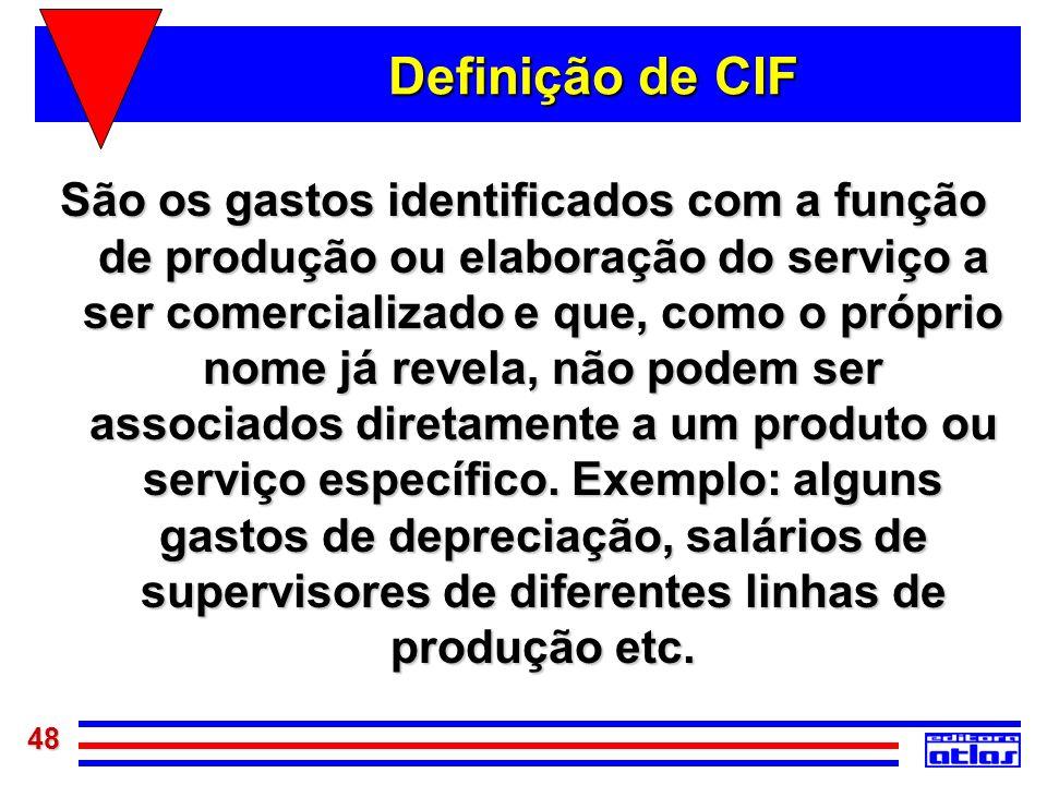 Definição de CIF