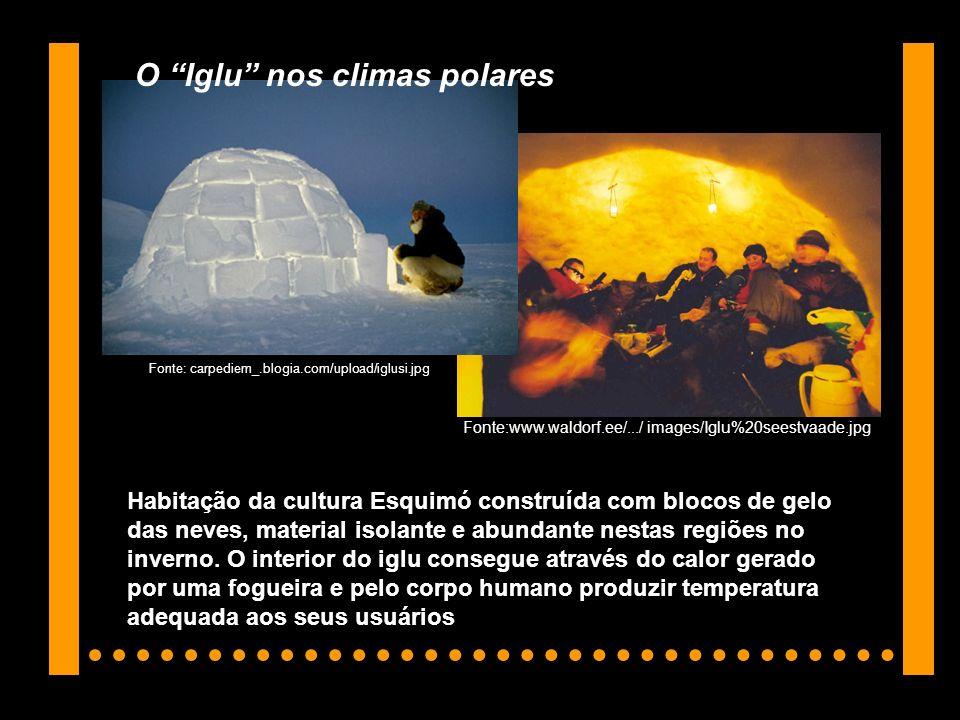 O Iglu nos climas polares