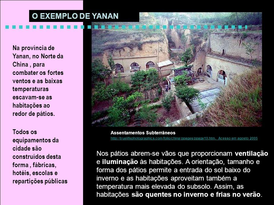 O EXEMPLO DE YANAN