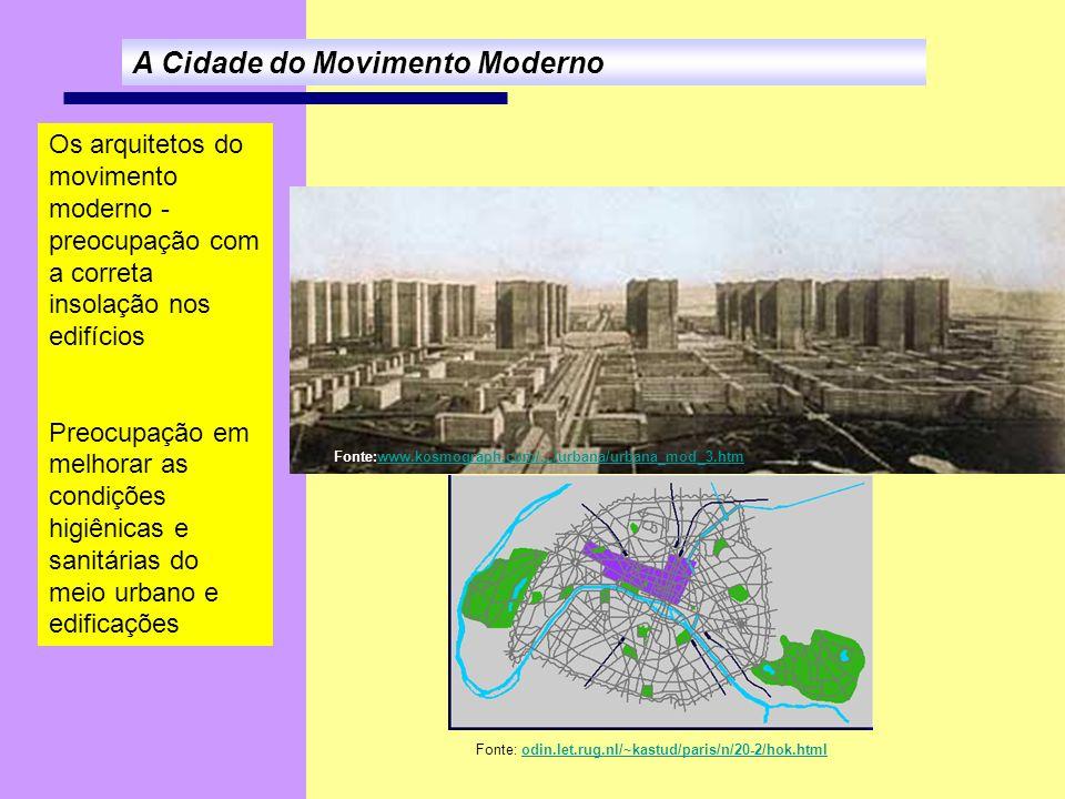 A Cidade do Movimento Moderno