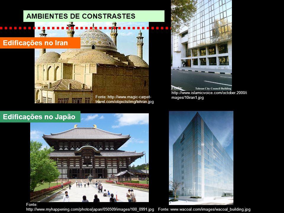 AMBIENTES DE CONSTRASTES