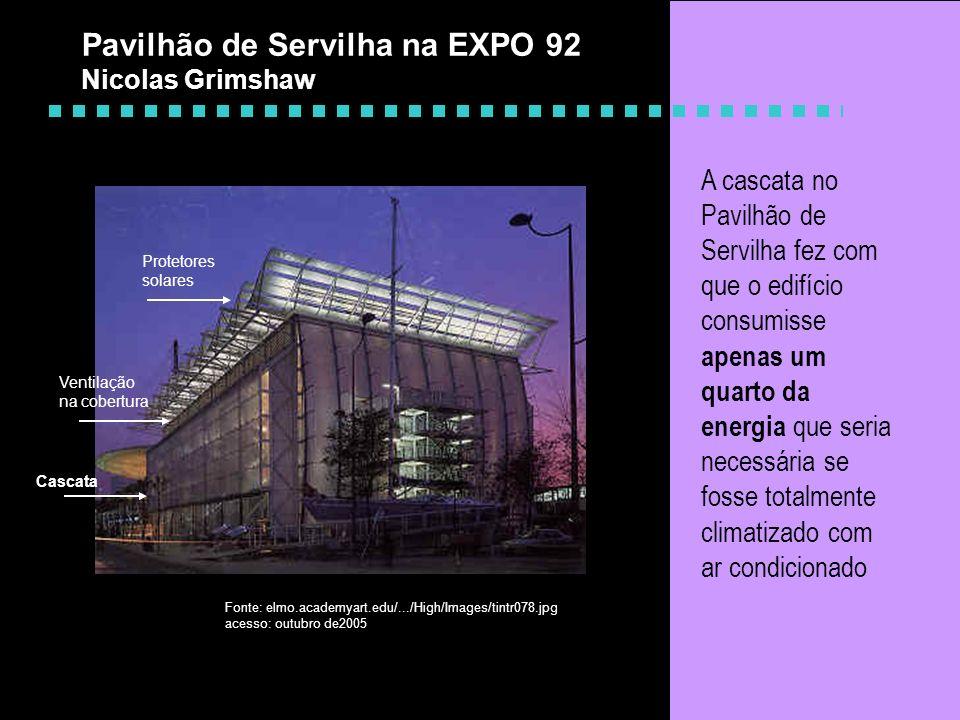 Pavilhão de Servilha na EXPO 92 Nicolas Grimshaw