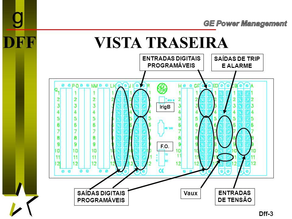 g DFF VISTA TRASEIRA Dff-3 ENTRADAS DIGITAIS PROGRAMÁVEIS